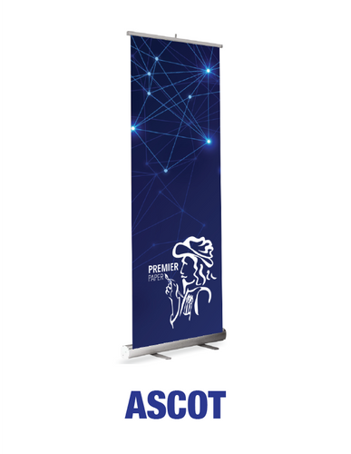 Ascot - Roll Up Banner Stand