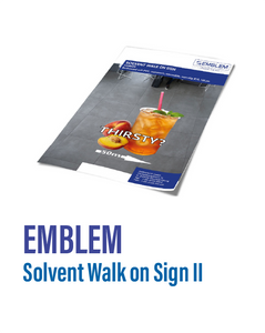Emblem - Walk on Sign II