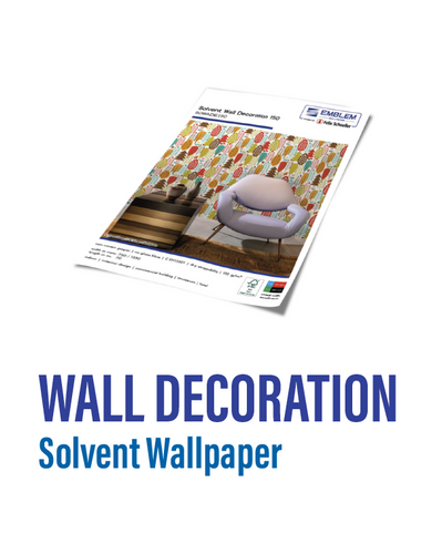 Emblem - Solvent Wall Decoration
