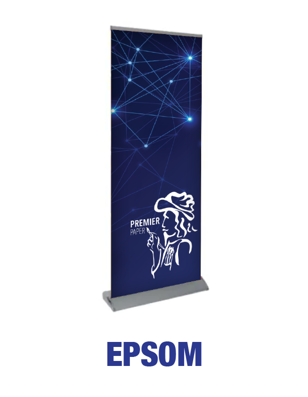 Epsom - Roll Up Banner Stand