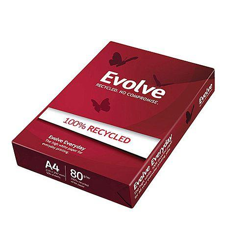 Evolve Everyday Recycled White