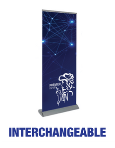 Interchangeable - Roll Up Banner Stand