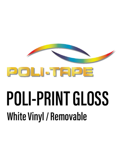 POLI-PRINT -  Monomeric Removable Vinyl