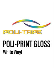 Load image into Gallery viewer, POLI-PRINT - Monomeric White Gloss Vinyl