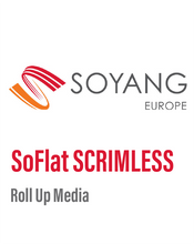 Load image into Gallery viewer, SoYang - SoFlat SCRIMLESS PET GREYBACK ROLL-UP MEDIA