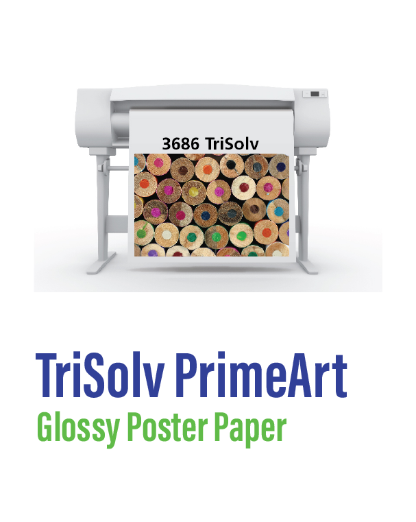 SIHL - Trisolve Primeart Glossy Poster Paper