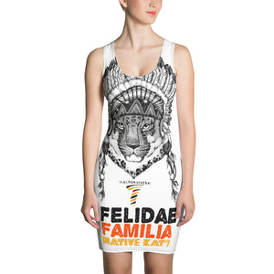 Felidae Familia Sublimation Cut & Sew Dress