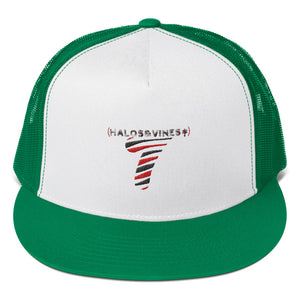 Halos&Vines* (Green/Red/Blk) Trucker Cap