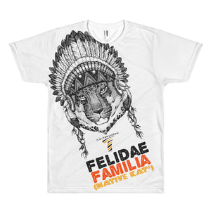 Felidae Familia Mens (Sublimation) T-shirt