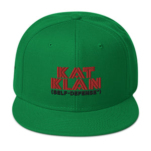 Kat Klan - Self Defense Snapback Hat