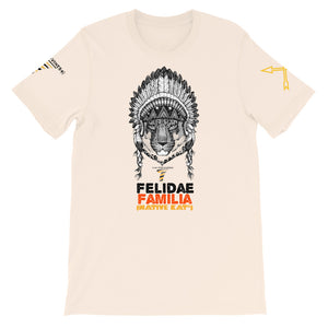 Felidae Familia - Native Kat* (Soft Cream) T-Shirt