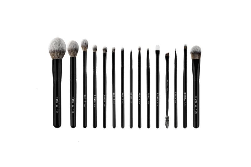 PRE SALE    All Vegan collection, of 15 high-quality makeup brushes