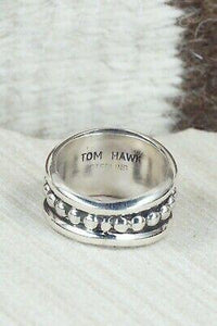 Sterling Silver Ring - Tom Hawk - Size 9.5 - High Lonesome Trading