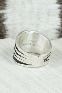 Sterling Silver Ring - Tom Hawk - Size 7.25 - High Lonesome Trading