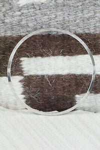 Sterling Silver Bangle - Elaine Tahe