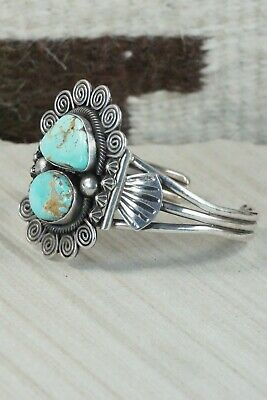 Turquoise and Sterling Silver Bracelet - Jess Martinez