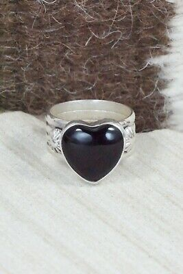 Onyx & Sterling Silver Ring - Ben Begay - Size 9