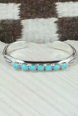 Turquoise and Sterling Silver Bracelet - Thomas Yazzie