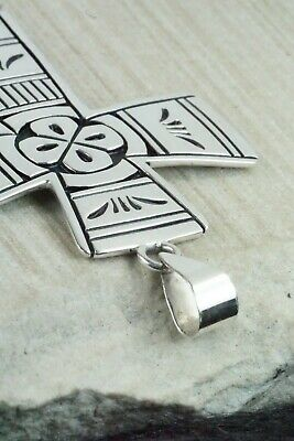 Sterling Silver Cross Pendant - Kerry Begay