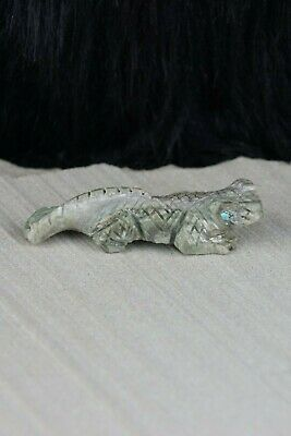 Lizard Zuni Fetish Carving - Kent Panteah - High Lonesome Trading