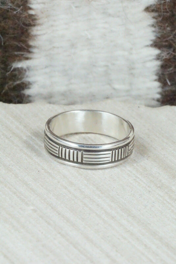 Sterling Silver Ring - Bruce Morgan - Size 12
