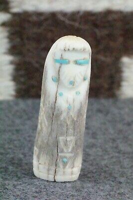 Corn Maiden Zuni Fetish Carving - Brandon Phillips - High Lonesome Trading
