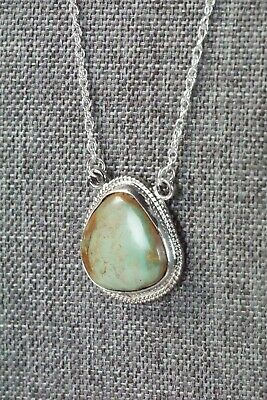 Navajo Turquoise & Sterling Silver Necklace - Annie Spencer