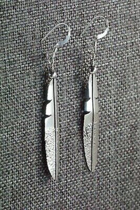Sterling Silver Earrings - Marvin Arviso