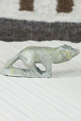 Wolf Zuni Fetish Carving - Calvin Weeka - High Lonesome Trading