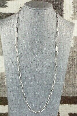 Sterling Silver Chain Necklace - Kevin Shorty