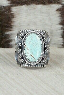 Turquoise & Sterling Silver Ring - Derrick Gordon - 10