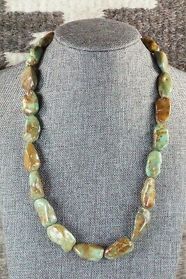 Turquoise & Sterling Silver Necklace - Navajo