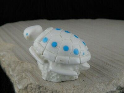 Turtle Zuni Fetish - Chris Pooacha - Zuni Turtle Carving - Native American - High Lonesome Trading