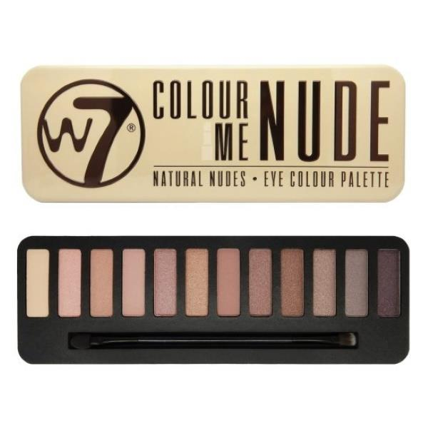 W7 Colour Me Nude Natural Nudes Eye Colour Palette