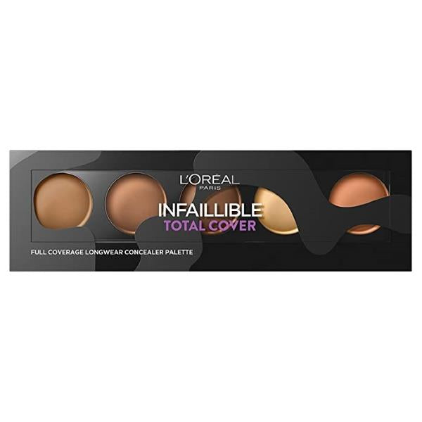 L'Oreal Infallible Total Cover Concealer Palette - 02 Tan to Deep