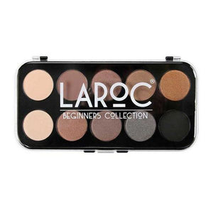 LaRoc 10-Colour Eye Shadow Palette