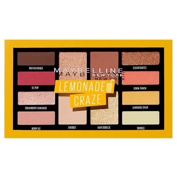 Maybelline Eye Shadow Palette Lemonade Craze