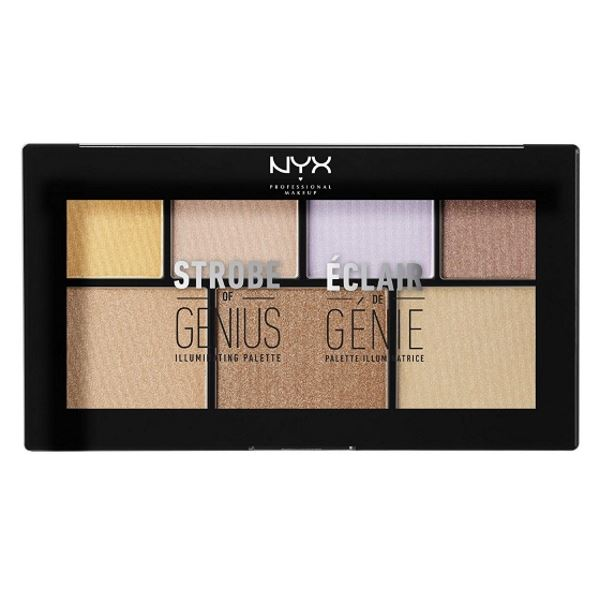 NYX Highlighter Strobe of Genius Palette