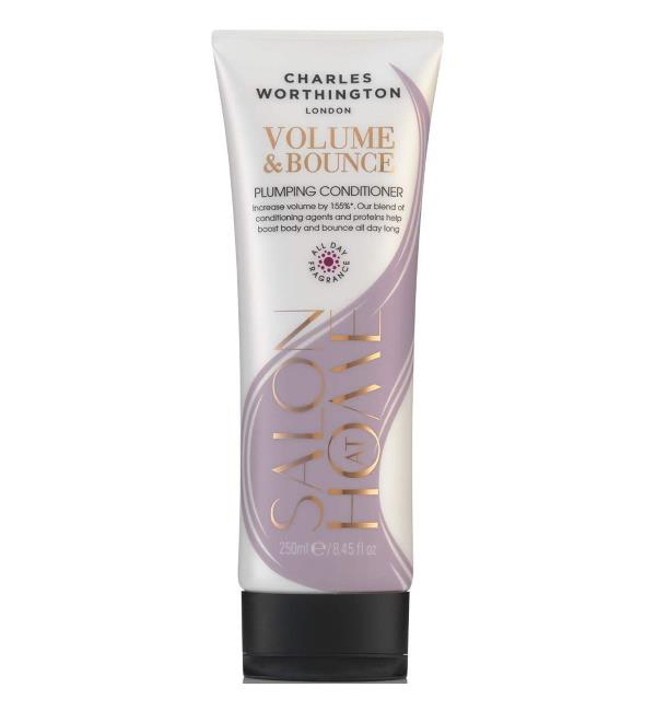 Charles Worthington Volume & Bounce Plumping Conditioner 250ml