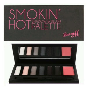 Barry M Smokin' Hot Shadow & Blush Palette