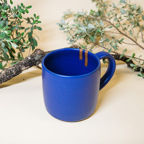 Focus Mug in Lapis