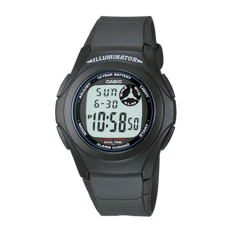 Reloj Casio Digital Unisex F-200W-1A