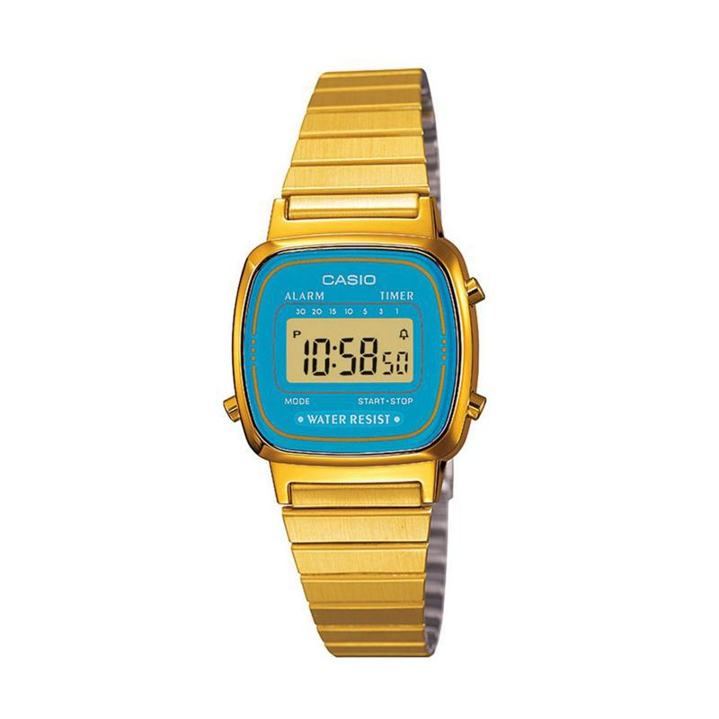 Reloj Casio Digital Dama LA-670WGA-2