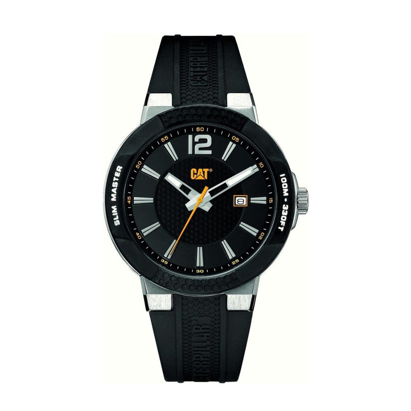 RELOJ CATERPILLAR SH14121131  SHOCK SLIM - BLACK DIAL / 43.5MM / BLACK SILICONE STRAP