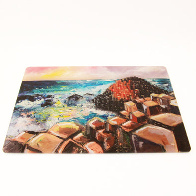 Giants Causeway - Glass Chopping Board