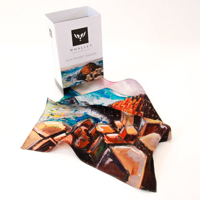 Giant's Causeway Silk Pocket Square