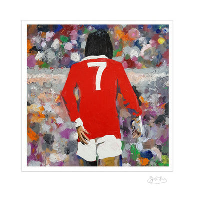 George Best - Simply the Best - Limited Edition Print