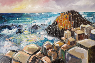 Giants Causeway- Original Painting