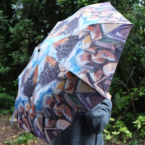 Giant's Causeway Art Umbrella