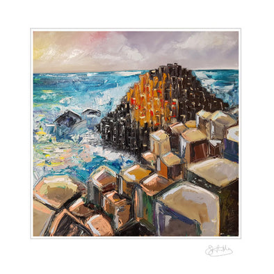 Giants Causeway - Limited Edition Print